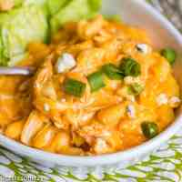easy buffalo chicken mac and cheese dinner recipe