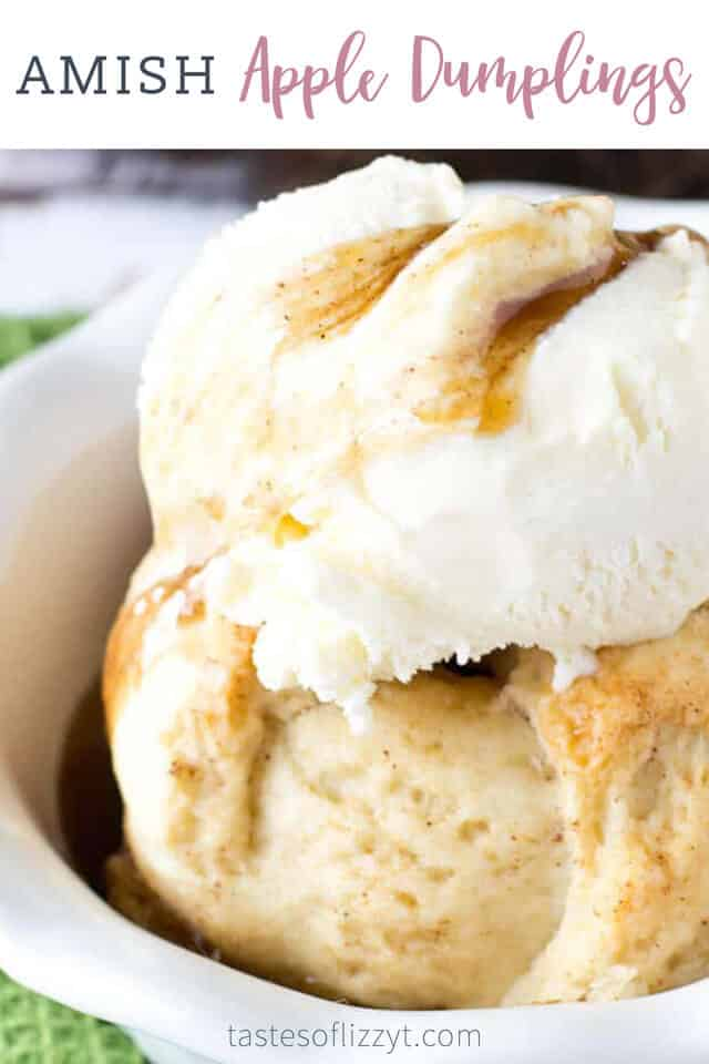 titled image (and shown): Amish Apple Dumplings