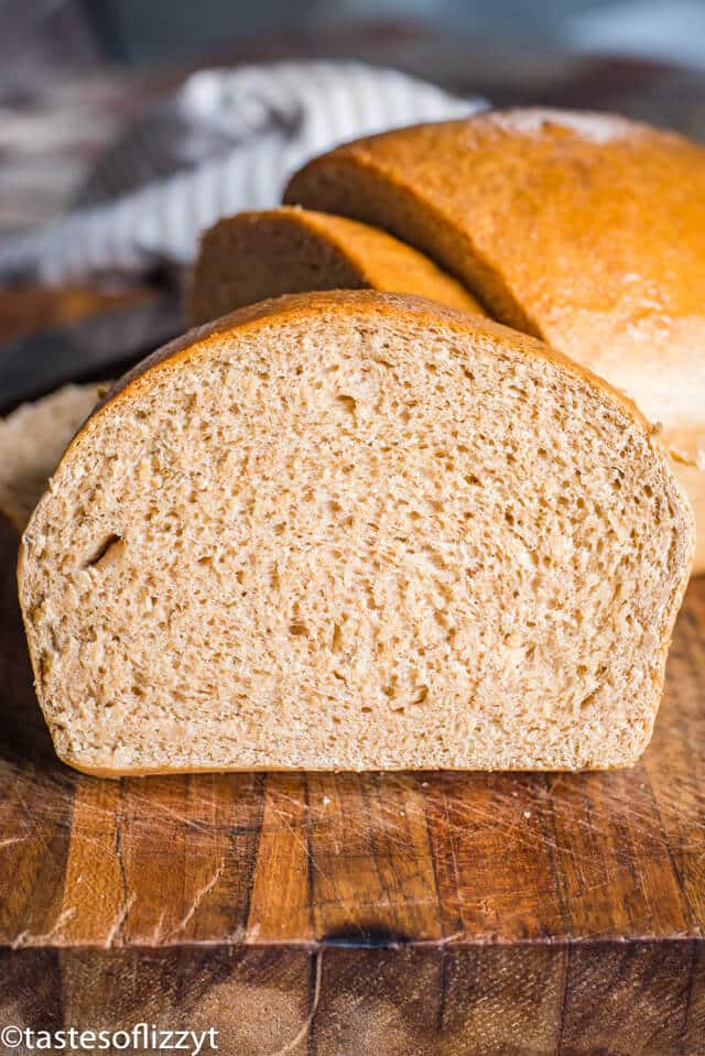 Honey Wheat Bread {From Scratch Old Fashioned Bread Recipe}