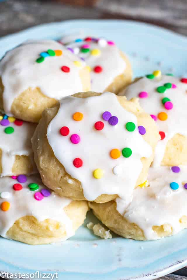 Ricotta Cookies Recipe W Powdered Sugar Frosting