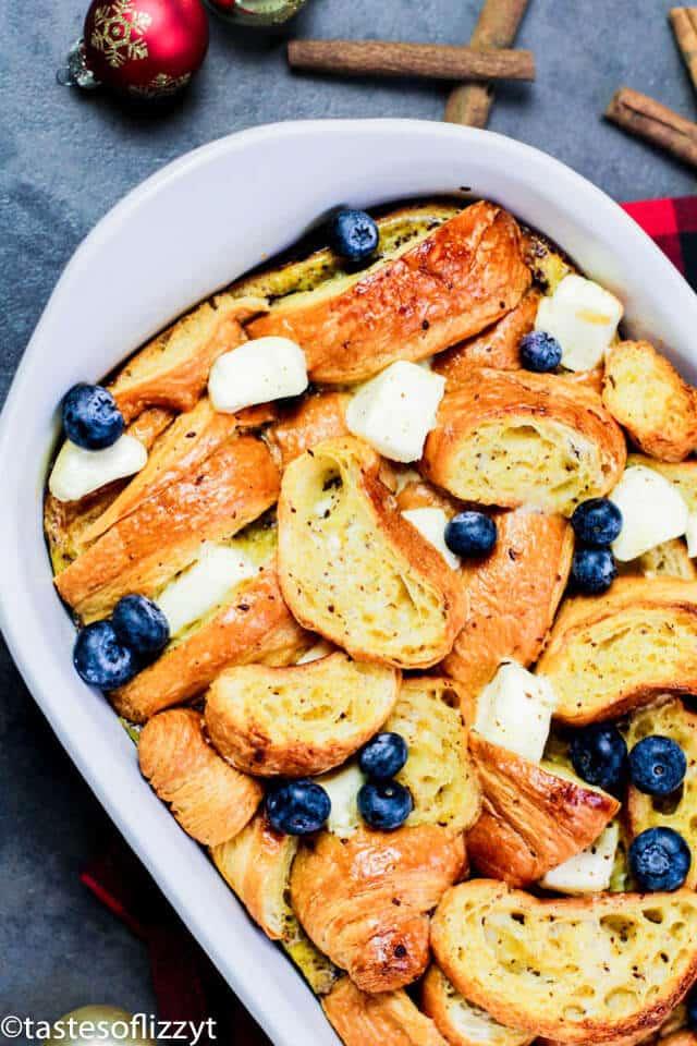 breakfast casserole with eggnog