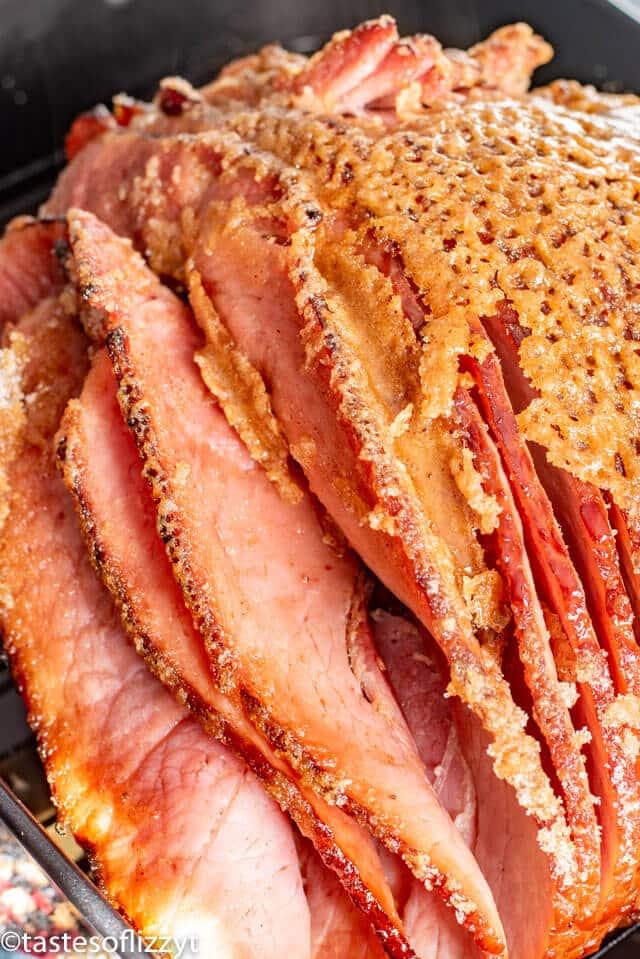 Honey Baked Ham Recipe with sugar crust