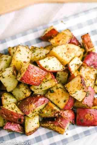 Roasted Red Potatoes with seasonings