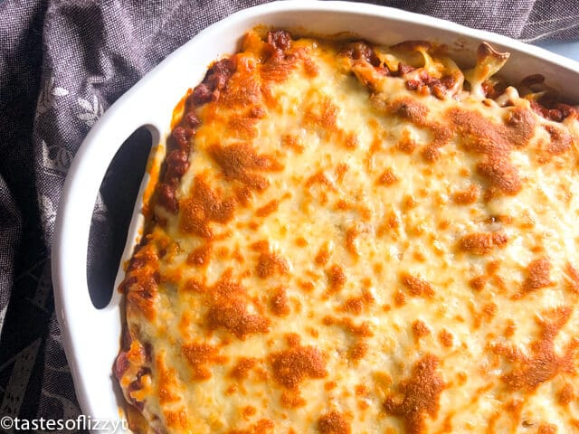 noodle casserole with cheese
