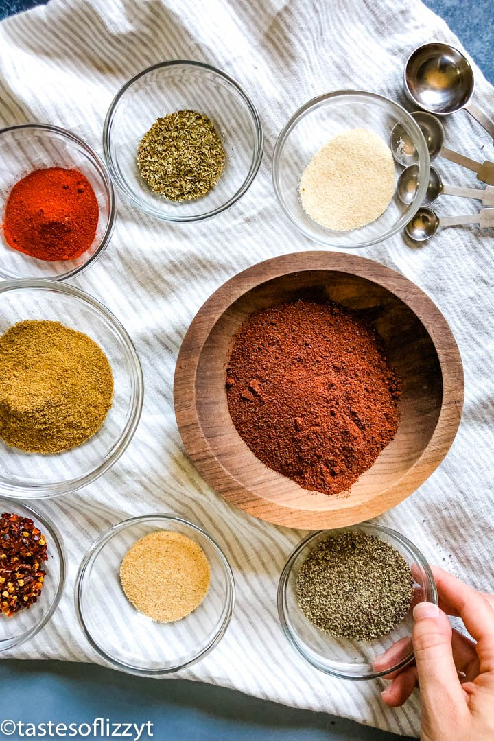 spices for Homemade Taco Seasoning