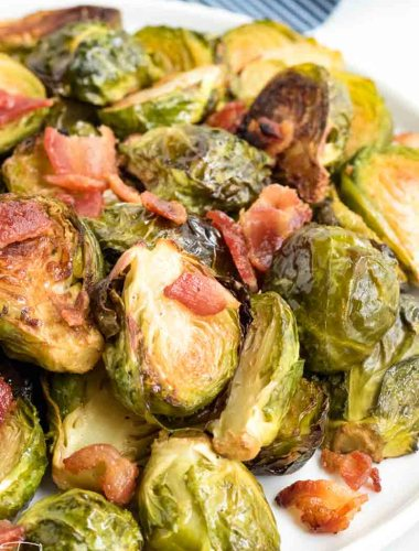 crispy oven roasted Brussels Sprouts