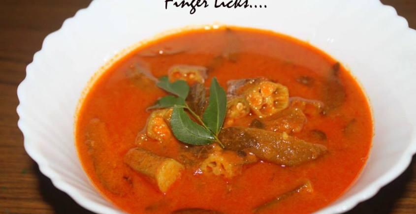 Vendakka Mulak Curry