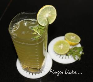 Mint Lime/ Pudina Lime