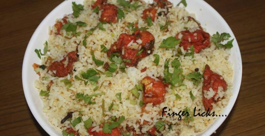 Gobi Fried Rice/ Fried Gobi Rice