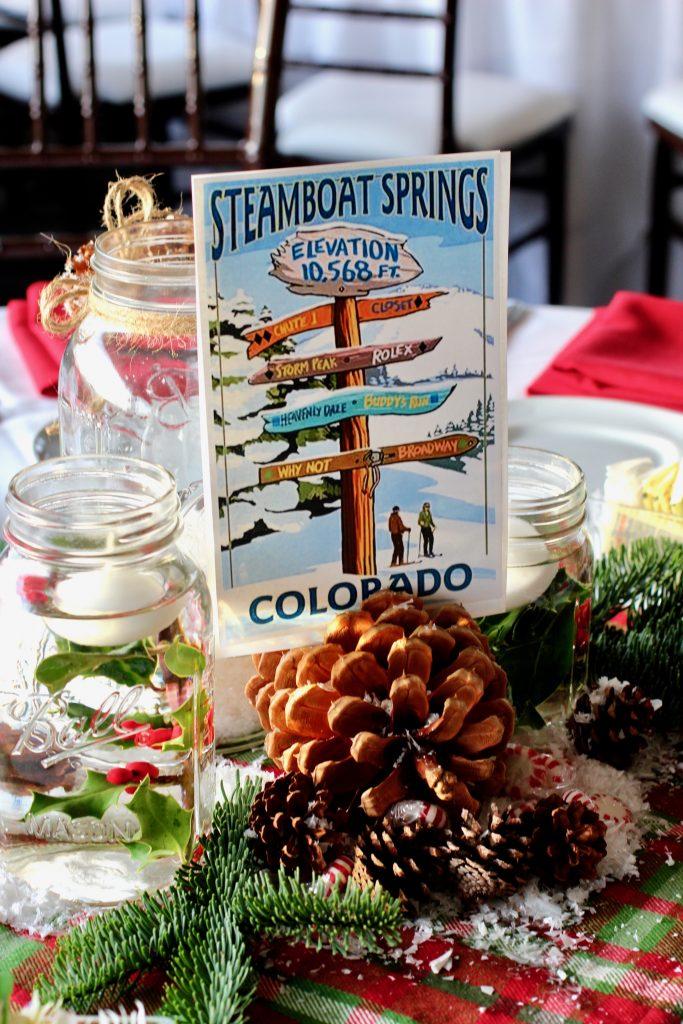 ski lodge theme holiday