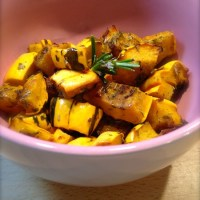 Tasting Good Naturally : Courge délicata aux herbes aromatiques #vegan