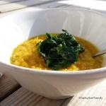 Tasting Good Naturally : Soupe de lentilles corail et épinards #vegan