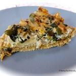 Tasting Good Naturally : Tarte aux blettes et petits oignons #vegan