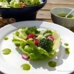 Tasting Good Naturally : vinaigrette à la fane de radis #vegan
