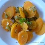 Tasting Good Naturally : Carottes à la sauge et aux poivrons - vegan