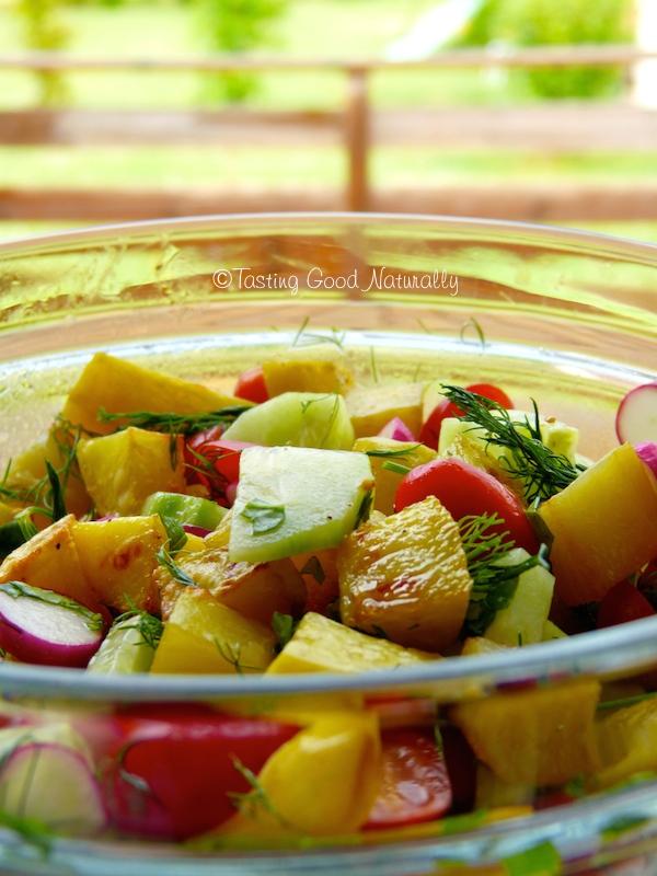 salade de pommes de terre la vinaigrette miso et citron vegan. Black Bedroom Furniture Sets. Home Design Ideas