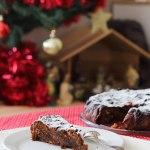 Christmas Cake (Gâteau de Noël) #vegan