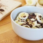 Tasting Good Naturally : Porridge de l'hiver chocolat banane #vegan