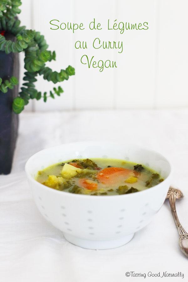 Tasting Good Naturally : Hello ! Venez découvrir ma recette super simple de soupe de légumes au curry et lait de coco végétalienne. C'est un régal pour les papilles. Envie de tester ? C'est par ici !