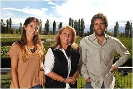 Susana Balbo with the next generation of Balbo