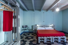Guest room of Ventanas abode
