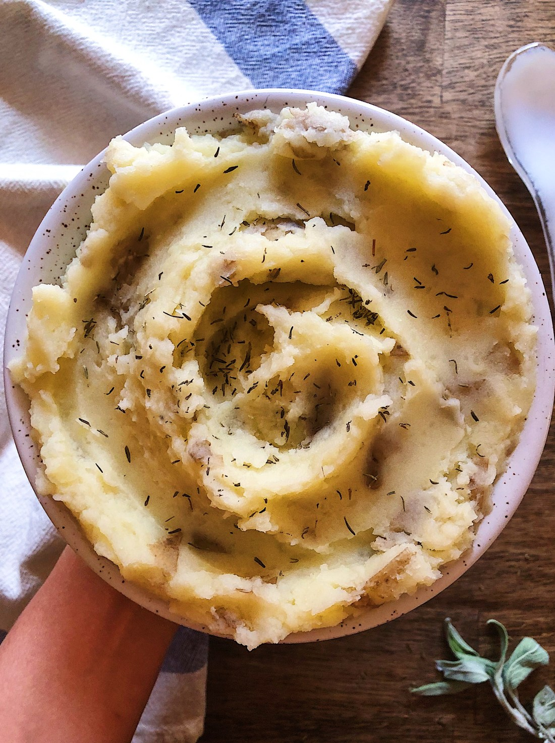 Vegan Garlic Mashed Potatoes