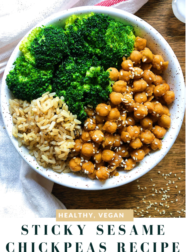Sticky Sesame Chickpea Recipe