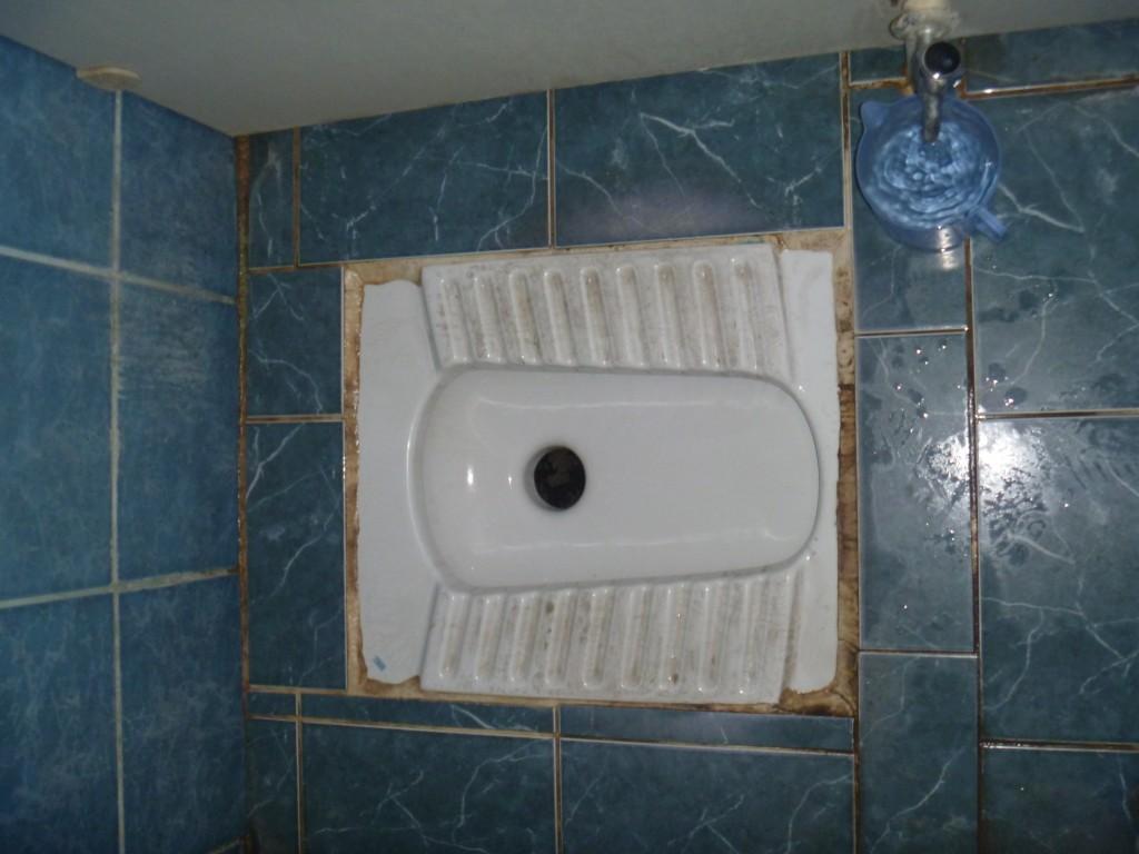 Die trkische Toilette  eine Gebrauchsanweisung