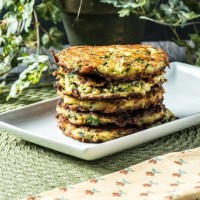 Low Carb Zucchini Fritters