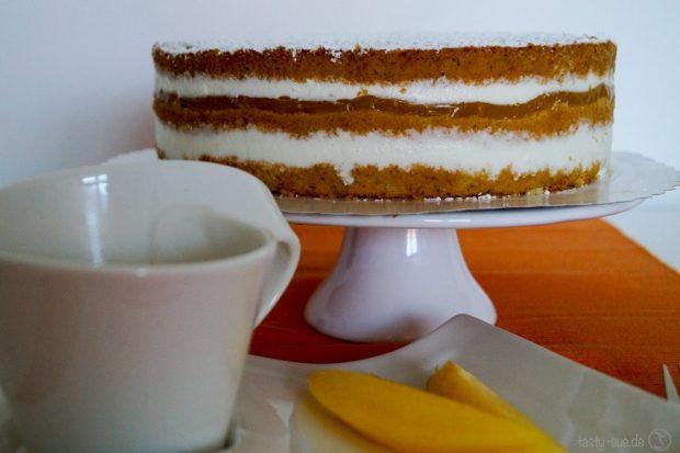 Mango-Lassi-Torte