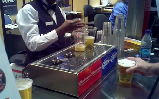 High Tech Beer Dispenser  TastyTakescom