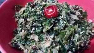IMG_5508-300x169 Fenugreek leaves fry/Chowli bhaji/Siru keerai poriyal