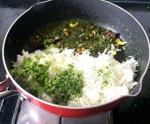IMG_7313-300x247 Cilantro rice/coriander rice/Dhania rice