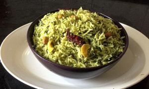 IMG_7318-300x180 Cilantro rice/coriander rice/Dhania rice