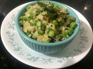 IMG_7389-300x223 Cauliflower and green peas dry curry