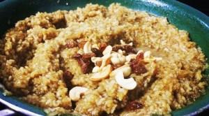 IMG_9282-300x166 Sarkarai Pongal/ Sweet Rice/Jaggery Rice Pudding