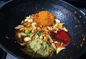 IMG_9540-300x205 Garlic Curry/Poondu Kolambu