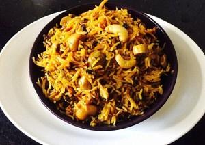 IMG_0144-300x212 Pressure cooker mushroom biryani