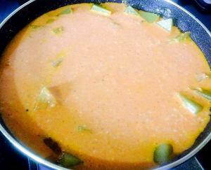 IMG_9667-1-300x243 White pumpkin in Yogurt based Gravy/ Nellai More Kozhambu/ Laukhee Dahi Sabzi