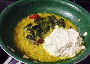 IMG_9677-300x212 Okra in Yogurt Gravy/ Tamilnadu More Kozhambu/ Bhindi dahi sabzi
