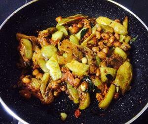 IMG_9728-300x250 Eggplant (Brinjal) Peanut Curry