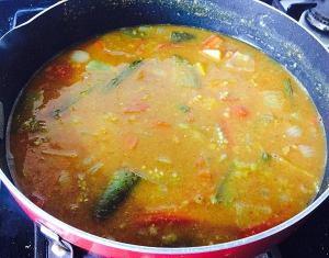 IMG_9792-300x235 South Indian Mixed Vegetable Sambar