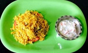 IMG_9851-300x179 Pressure Cooked Tomato Rice