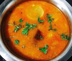 IMG_0670-300x256 Radish Lentil Soup (Mullangi Sambar)