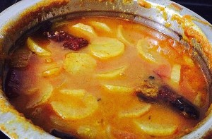 IMG_0692-1-300x197 Radish Lentil Soup (Mullangi Sambar)