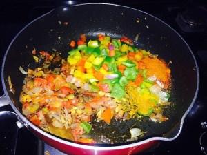 IMG_1343-300x225 Green Pepper Rice/Shimla Mirchi Pulao