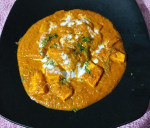 IMG_1411-300x256 Buttery Cottage Cheese Gravy/Paneer Butter Masala