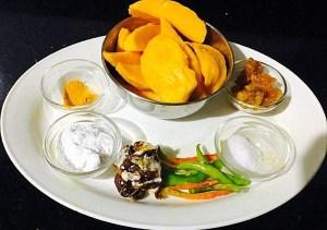 IMG_1518-300x211 Sweet and Sour Ripe Mango Curry/Ambe Upkai