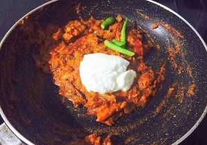 IMG_0565-300x210 Creamy Soya Chunk Curry