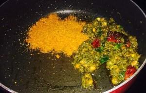 IMG_0989-300x191 Rice with Sorrel Leaves/Gongura Puliyodharai/Pullicha Keera